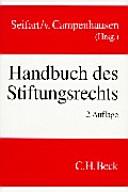 Handbuch des Stiftungsrechts
