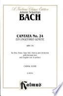 Cantata No  24    Ein ungefarbt Gemute