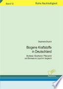 Biogene Kraftstoffe in Deutschland