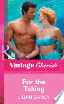 For The Taking Mills Boon Cherish  book