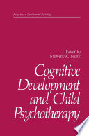 Cognitive Development and Child Psychotherapy Foreign Do Mains Of Research