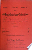 The West American Scientist