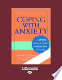 Coping with Anxiety  Large Print 16pt