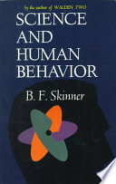 Science and human behavior /