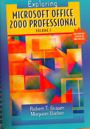Exploring Microsoft Office 2000 Professional