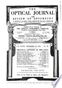 The Optical Journal and Review of Optometry