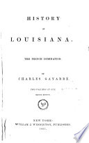 History of Louisiana ...