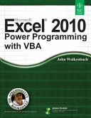 MICROSOFT EXCEL 2010 POWER PROGRAMMING WITH VBA  With CD