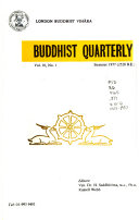 Buddhist Quarterly