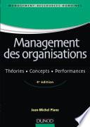 Management des organisations   4e ed