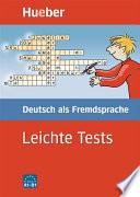 Leichte Tests Deutsch als Fremdsprache
