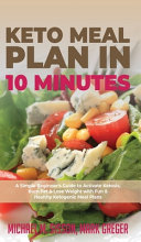 Keto Meal Plan In 10 Minutes