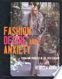 Fashion  Desire and Anxiety