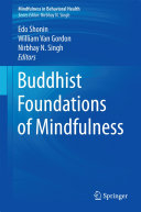 Book Buddhist Foundations of Mindfulness
