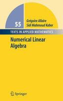 download ebook numerical linear algebra pdf epub