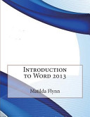 Introduction to Word 2013