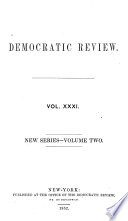 The United States Democratic Review book