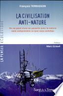 illustration La civilisation anti-nature