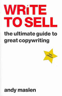 Ebook Write to Sell Epub Andy Maslen Apps Read Mobile