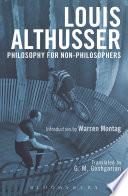 Philosophy for Non Philosophers