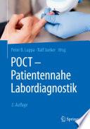 POCT   Patientennahe Labordiagnostik