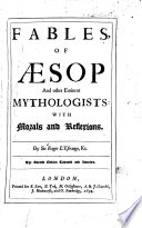 Fables of Aesop and Other Eminents Mythologists