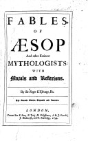 download ebook fables of aesop and other eminents mythologists pdf epub