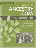 Unofficial Ancestry  com Workbook
