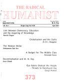 The Radical Humanist