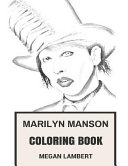 Marilyn Manson Coloring Book