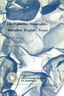 The Caballos Novaculite  Marathon Region  Texas
