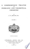 A Comprehensive Treatise on Inorganic and Theoretical Chemistry