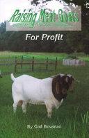 Raising meat goats for profit
