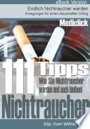 111 Nichtraucher Tipps   Nichtraucher werden und bleiben