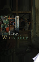Law  War and Crime