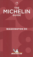 MICHELIN Guide Washington  DC 2018