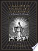 Discourses of Tolerance   Intolerance in the European Enlightenment