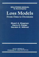 Loss Models  Student Solutions Manual