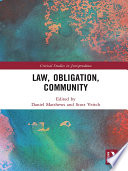 Law  Obligation  Community