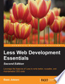 Less Web Development Essentials   Second Edition