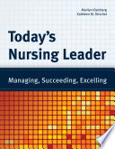 Today's Nursing Leader Pdf/ePub eBook