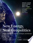 New Energy  New Geopolitics