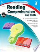 Reading Comprehension and Skills  Grade 5