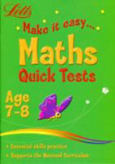 Letts Make It Easy   Maths Age 7 8