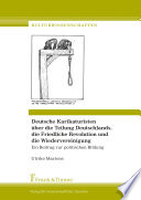 Deutsche Karikaturisten über die Teilung Deutschlands, die Friedliche Revolution und die Wiedervereinigung