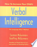 How To Increase Your Child S Verbal Intelligence