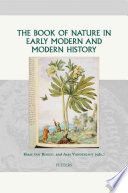 download ebook the book of nature in early modern and modern history pdf epub