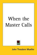 When The Master Calls