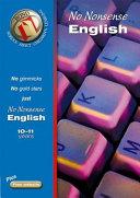 Bond No Nonsense English 10-11 Years