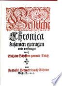 Hessische Chronica